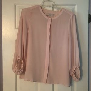 Loft bubble sleeve blouse